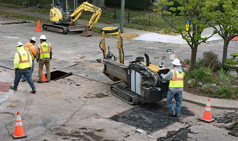 directional drilling and crossings service in fresno