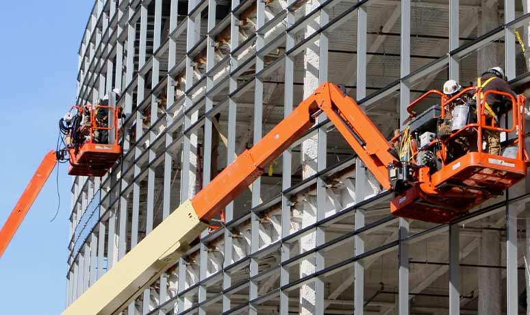 lifts & booms for rental in fresno