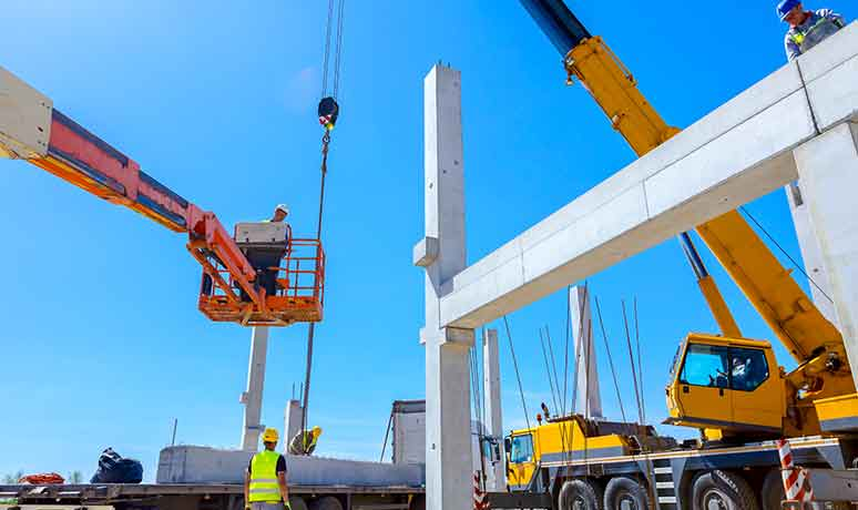 crane services for construction in fresno
