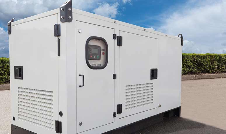 power generation service rental for construction in fresno