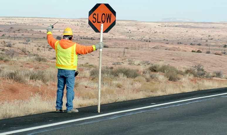 construction site traffic control service